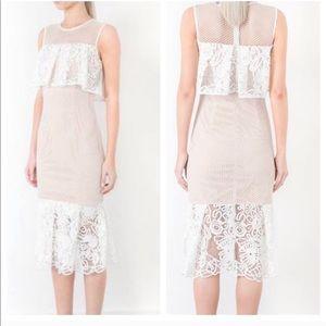 ELLIATT Serenity Cold Shoulder Dress